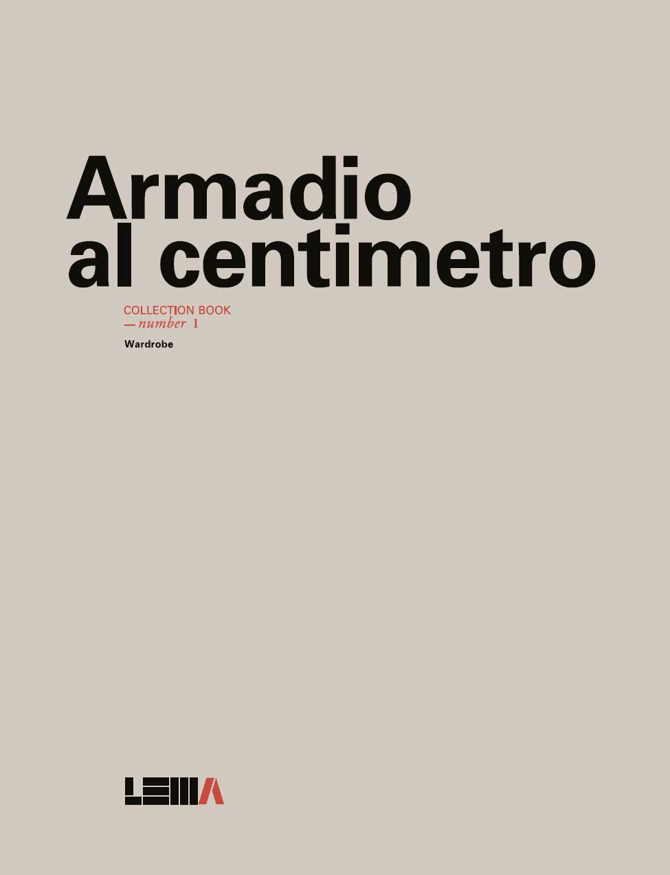 Armadio al Centimetro Book 1 2014 - Alberto Schiatti
